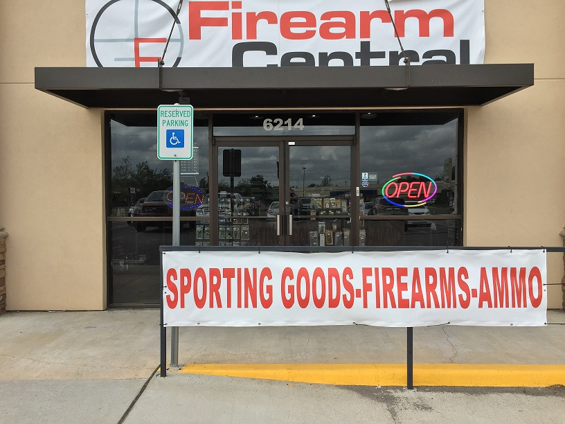 Firearm Central Storefront