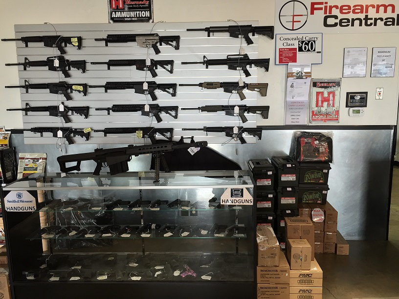 Firearm Central Inventory Picture